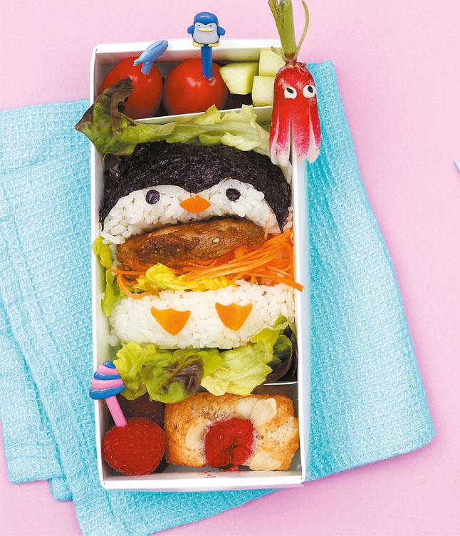 Ein Burger mit Watschelfüßen: Der Pinguin.