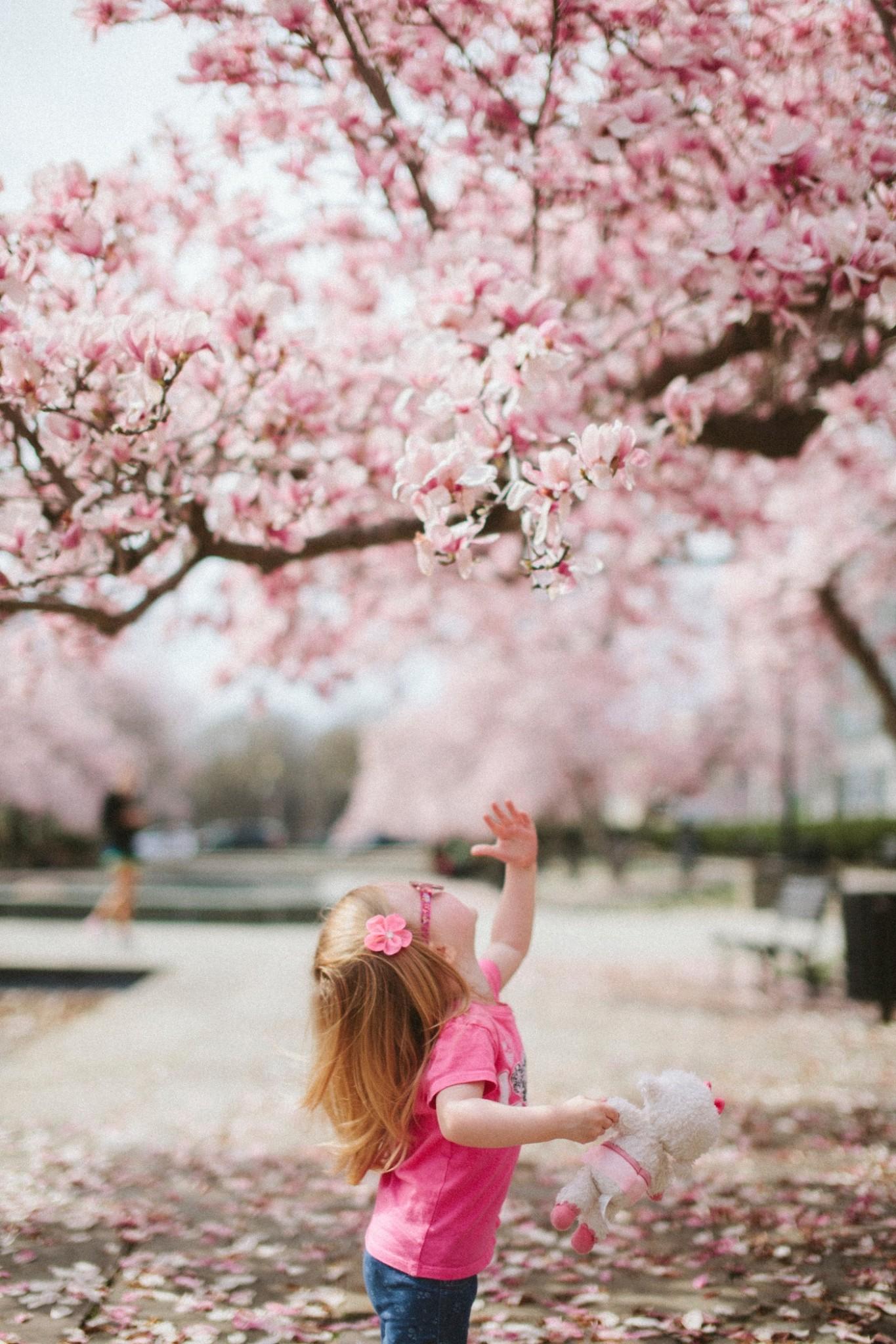 Frühling mit Kindern