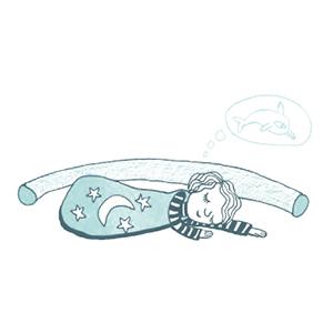 Bettbegrenzung für Kinder
