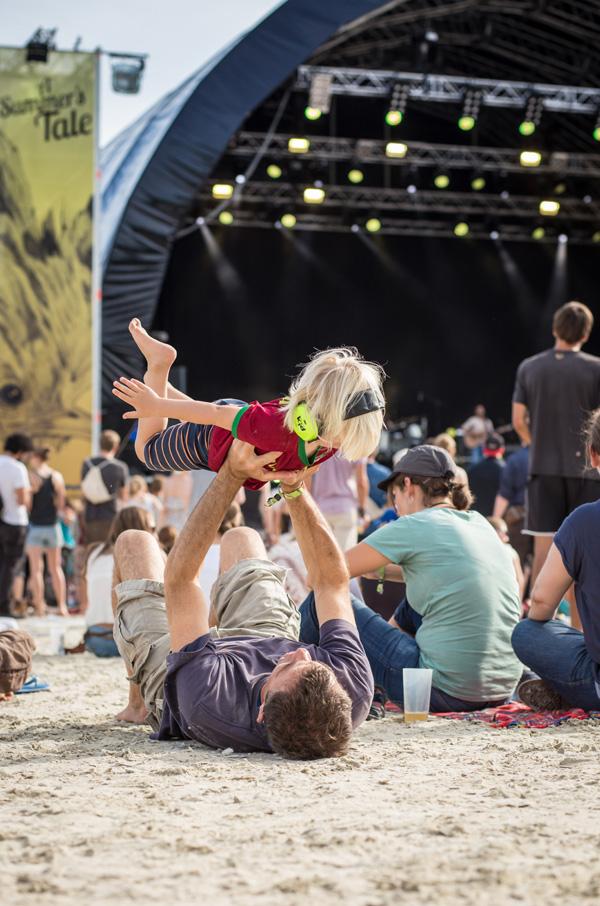 Entspannt mit Kind auf dem Festival sieht also so aus!