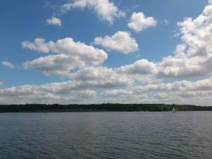 Wolken und Weite am Wannsee (Foto: Pixabay)
