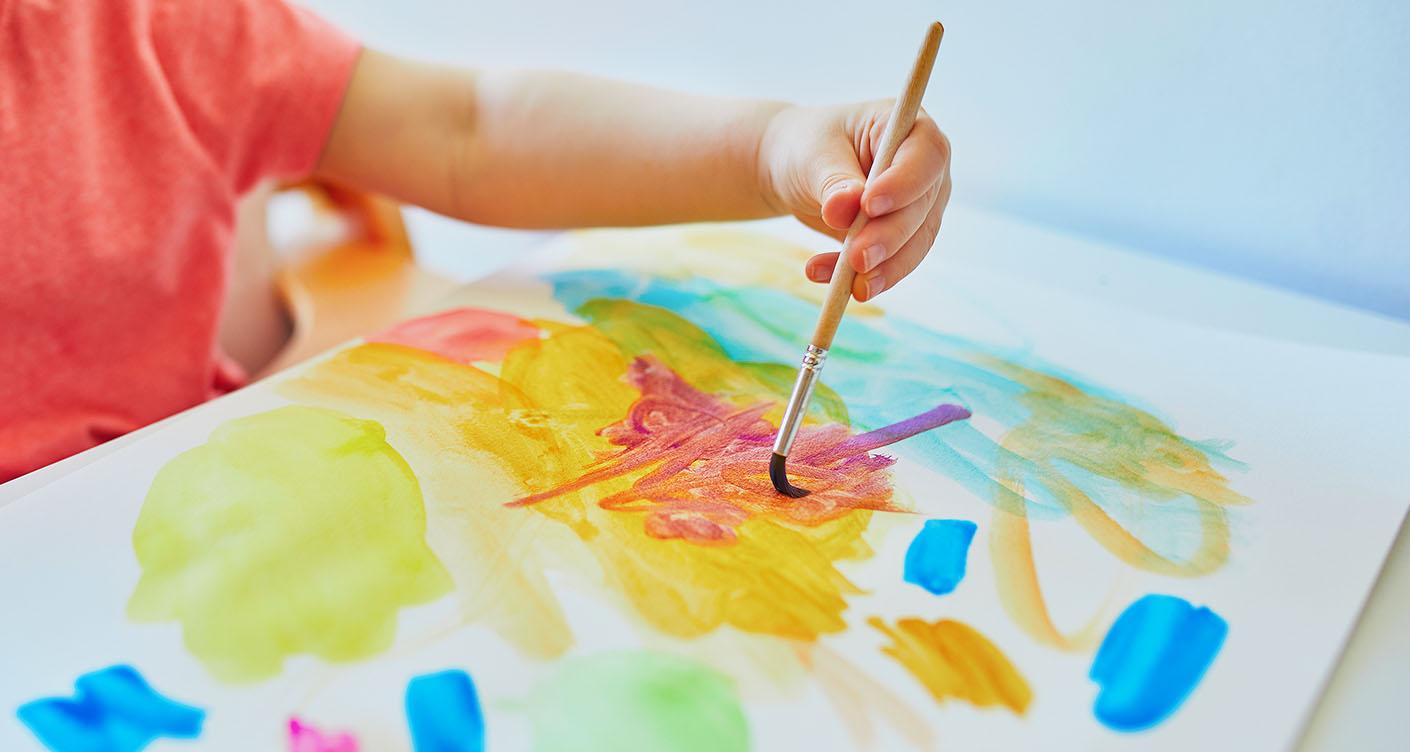 5 kreative Bücher für kleine Künstler