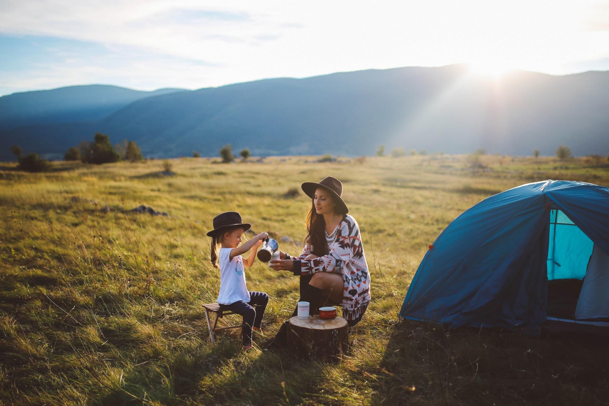 5 goldene Regeln fürs Camping mit Kindern