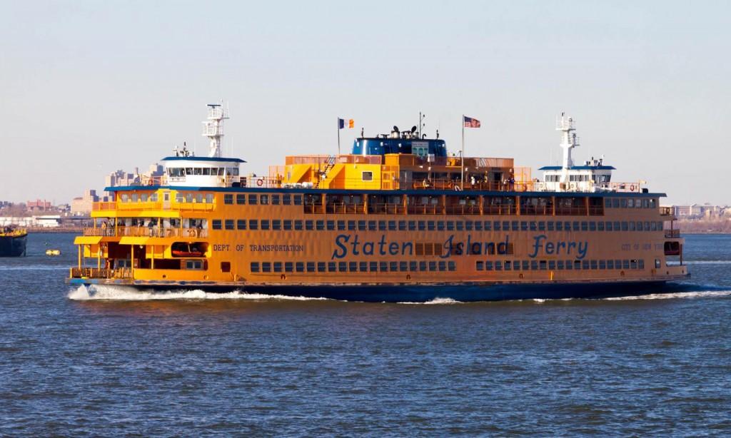 Übers Wasser mit der Staten Island Ferry (Foto: lovingny.com)