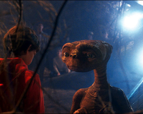Gruselfilme für Kinder, E.T.