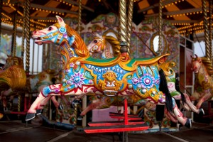 Schön nostalgisch: Jane´s Carousel (Foto: Unsplash)