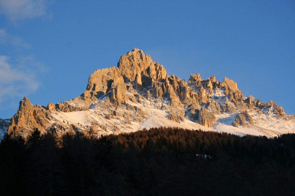 Das Bergpanorama von Oberegg