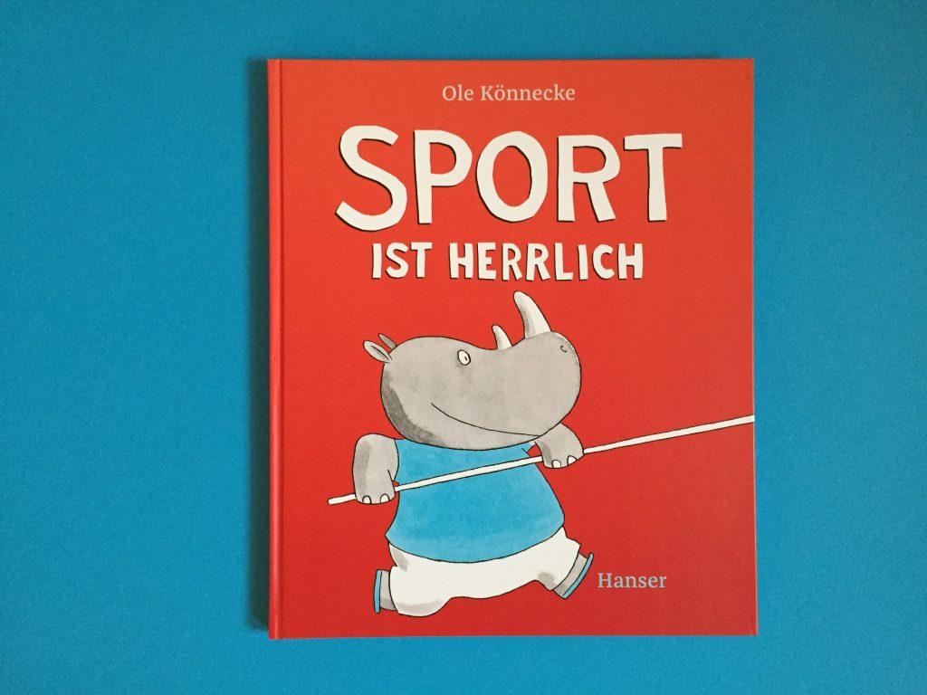 Bilderbücher für Kinder, Sport ist herrlich