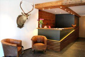 Alpenlodge Brand Lobby