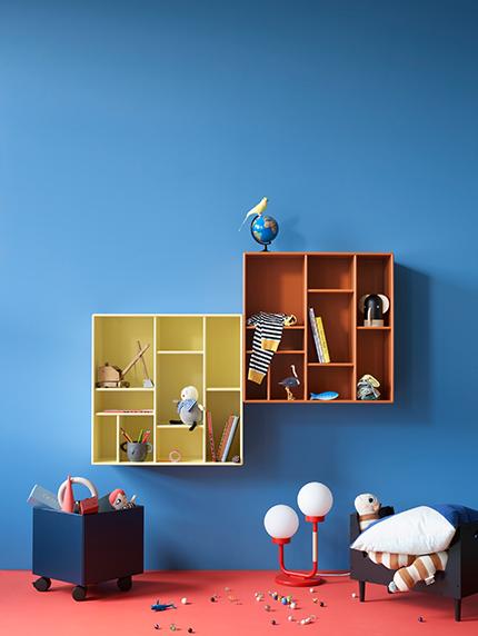 Aufbewahrung fürs Kinderzimmer: Kisten, Körbe & Co