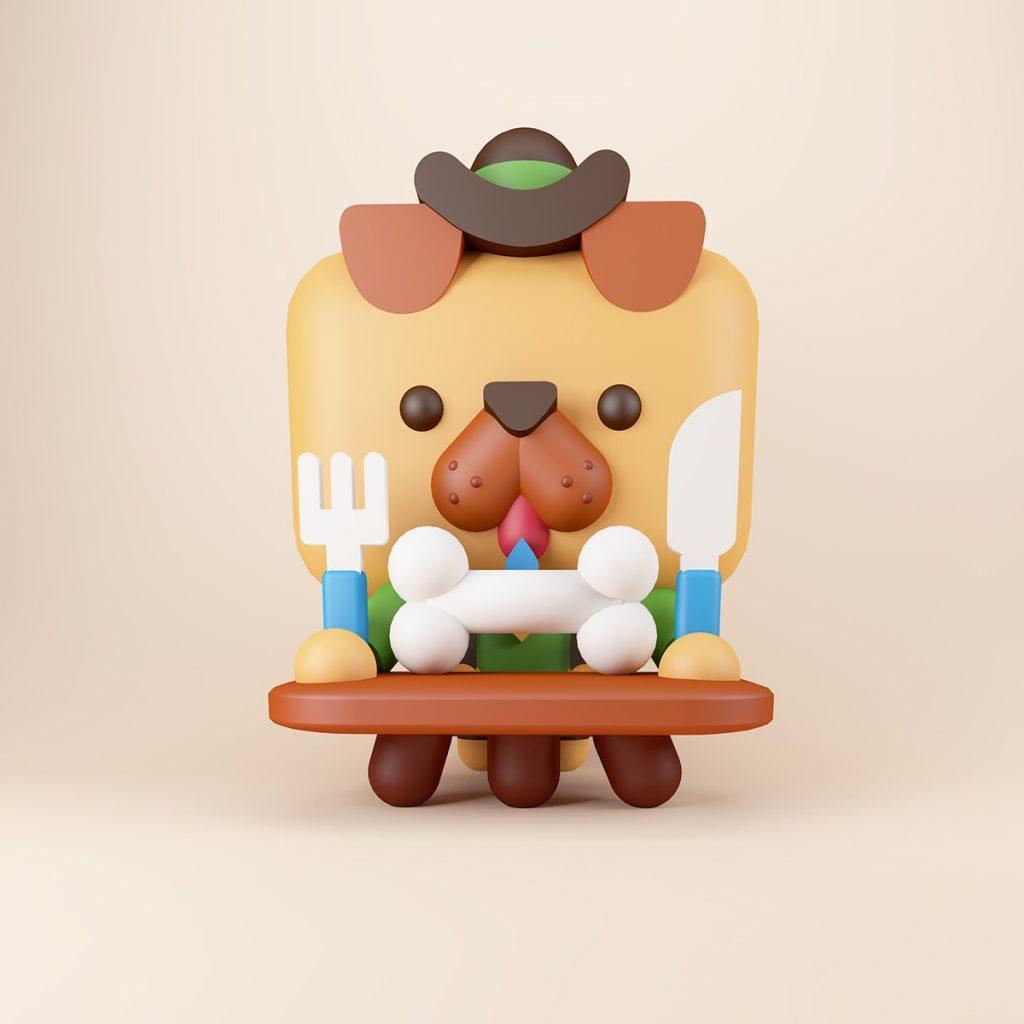 Japanisches Spielzeug von Amaury Lemal