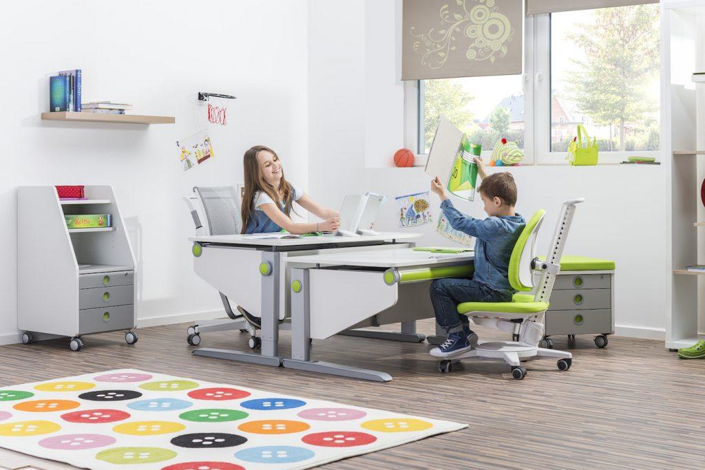 Mitwachsende Schreibmöbel Schreibtisch Stuhl