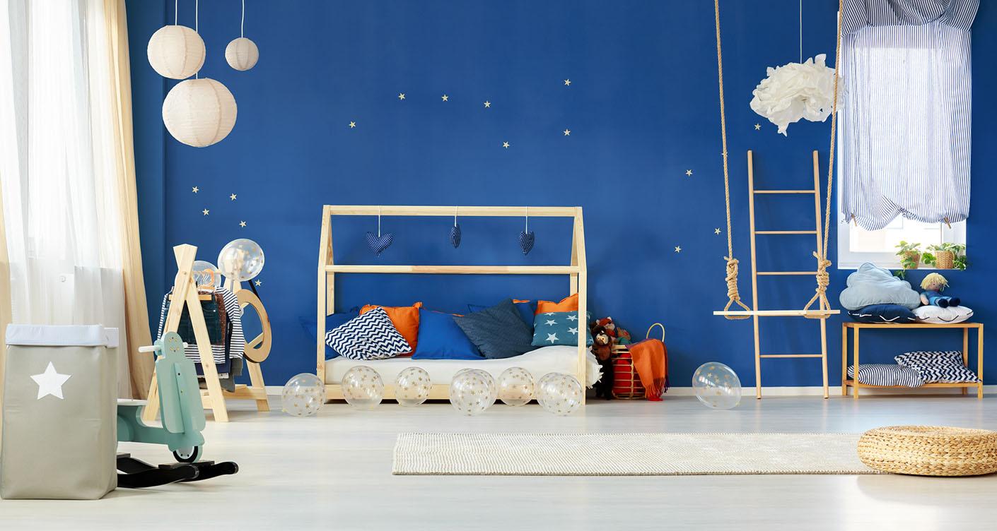 Farbgestaltung im Kinderzimmer: Das empfiehlt die Interior-Designerin