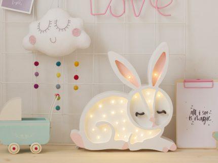 littlelights Kinderzimmer Lampe Hasenlampe Einrichtung Interior Dekoration für's Kinderzimmer