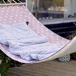Hängematte Outdoor Garten Terrasse Einrichten Living entspannen wohlfühlen Wohnen