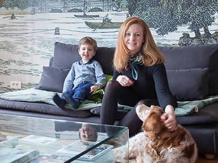 Homestory: So lebt Innenarchitektin Amélie Colombet mit ihrer Familie in Paris