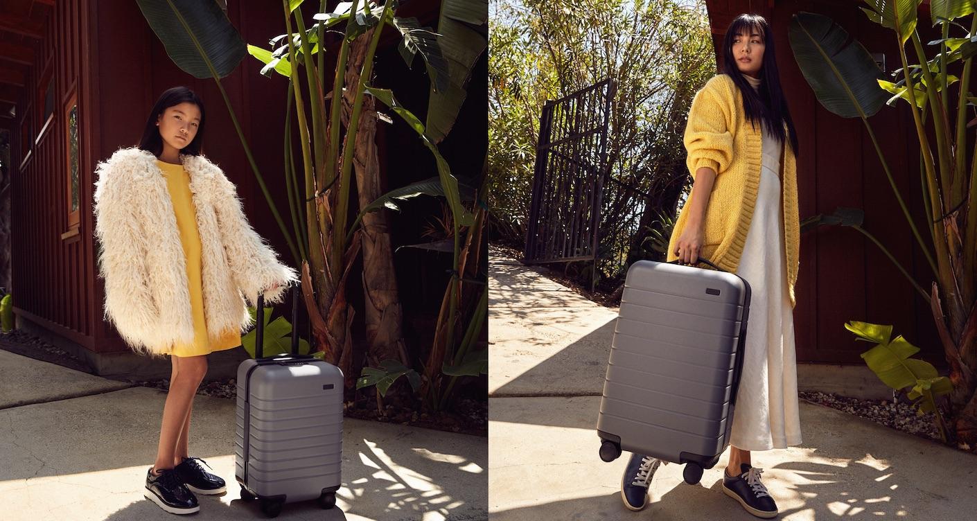 Stilvoll und sicher reisen mit Kinderkoffer: Interview mit Away Gründerin Jen Rubio