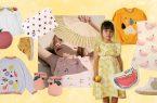 Kindermode mit Fruchtprints
