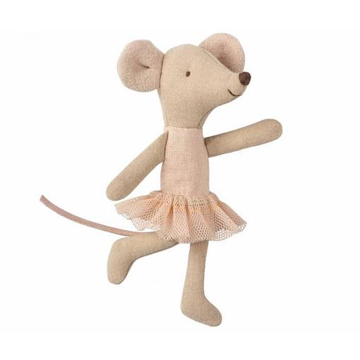 Ballerina Maus Maileg Kuscheltier Geschenkidee rosa Tutu
