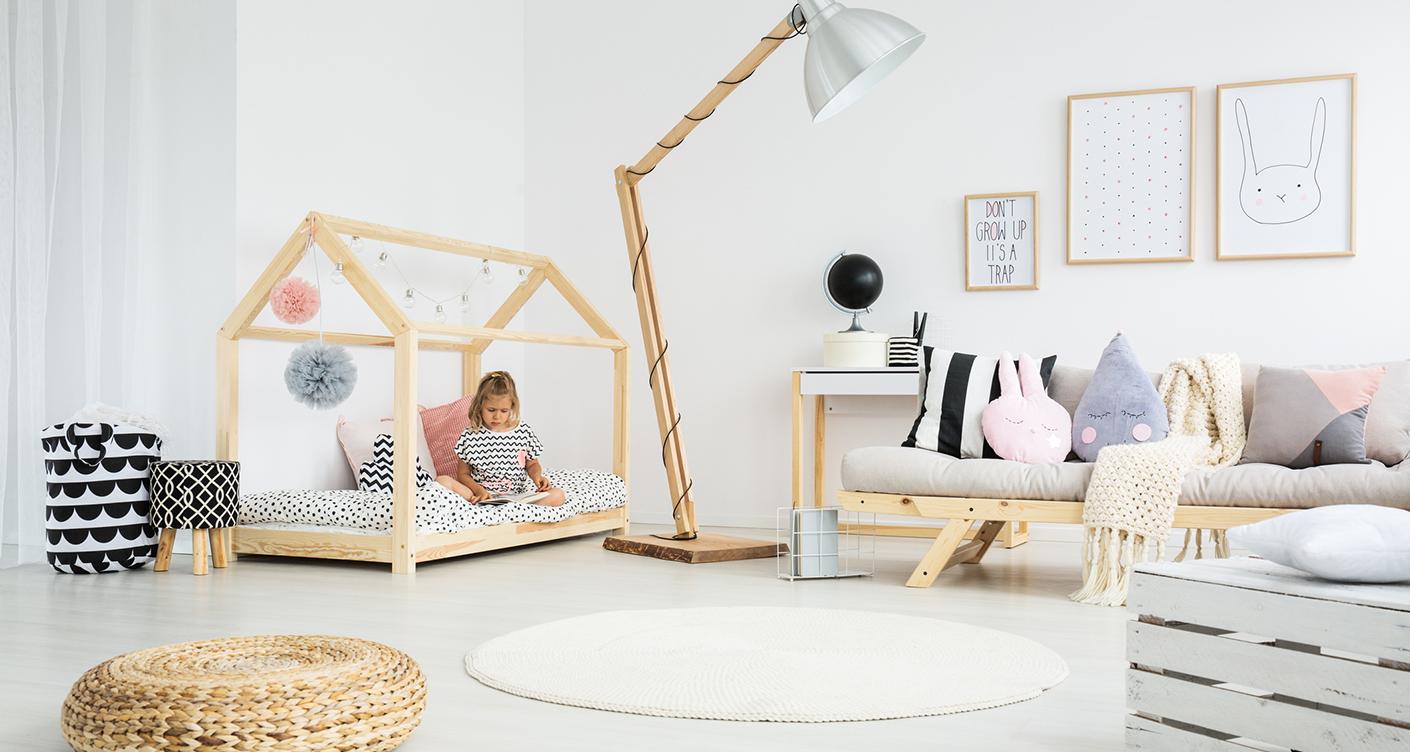 Deko-Inspiration: Kuschelecke im Kinderzimmer einrichten