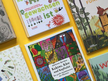 Naturbücher für Kinder
