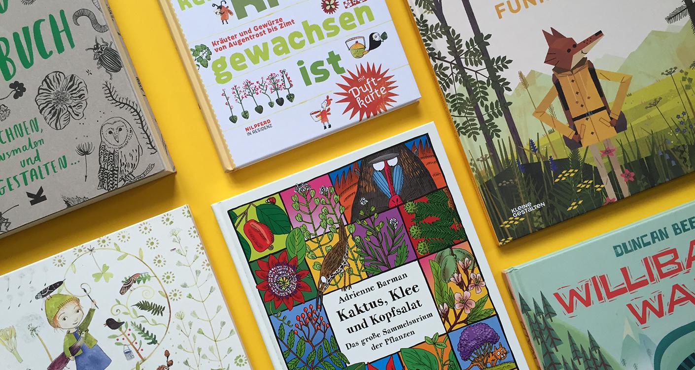 Schöne Naturbücher für Kinder von 3 – 10 Jahren