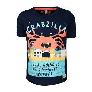 Tom Joule, Printshirt, Krabbe
