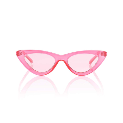 Sonnenbrille Brille Cateye pink rosa Mode Frauenmode Fashion Stil stylisch schick cool