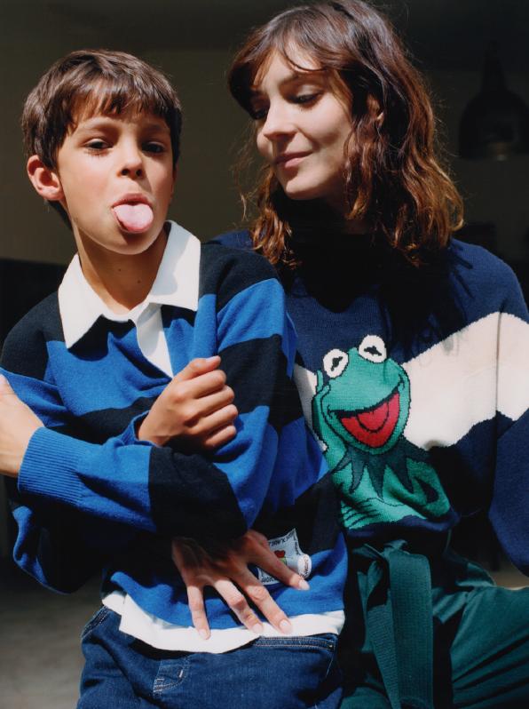Sandro, Muppets, Kermit, Kinderkollektion, Mini Me