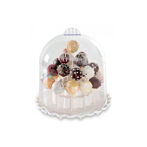 Cake Pops Ständer Dekoration Tischdeko Kuchen Backen Essen Kindergeburtstag Süßigkeiten Schokolade