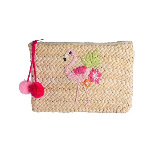 Clutch Flamingo Mode Tasche Handtasche Frauenhandtasche Flamingo