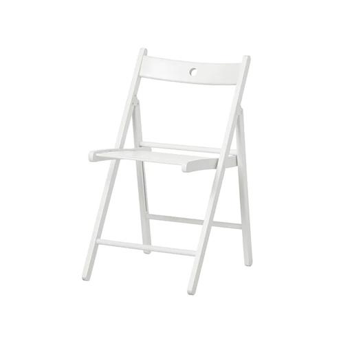 Klappstuhl TERJE Ikea weisser Stuhl Garten Terrasse Wohnen