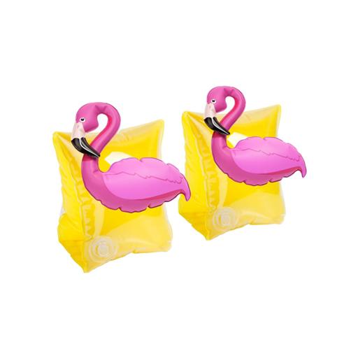 Schwimmflügel Flamingo schwimmen abden Pool Sonne Strand Meer Kinderschwimmflügel