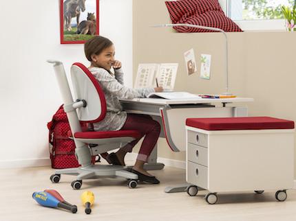 Richtig sitzen am Schreibtisch: Schreibtischstuhl für Kinder