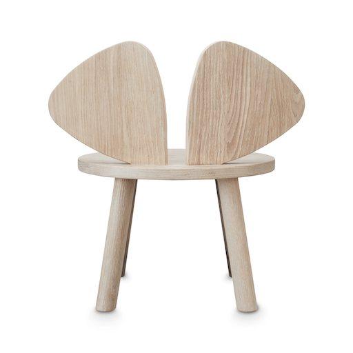 Kinderstuhl Maus nofred Kinderzimmer einrichten Holzstuhl nachhaltig Sitzecke