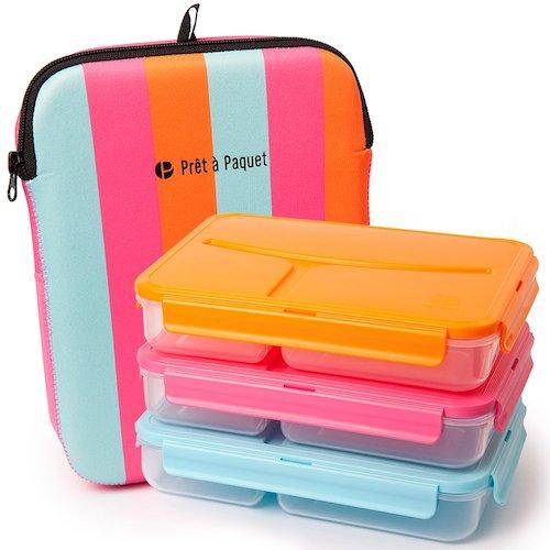Lunchboxen bunt