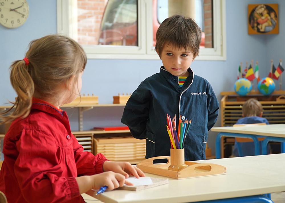 Montessori Schule Interview