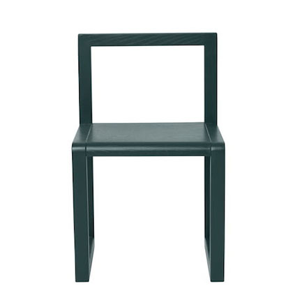 119€ ferm Living-Little Architect Chair dunkelgruen