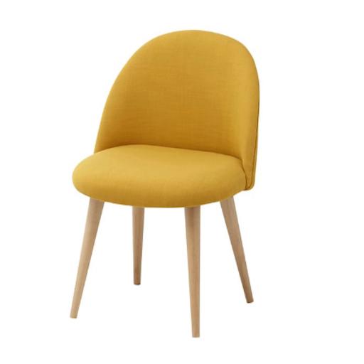 gelber Kinderstuhl Vintage Kinderzimmer einrichten Sitzecke