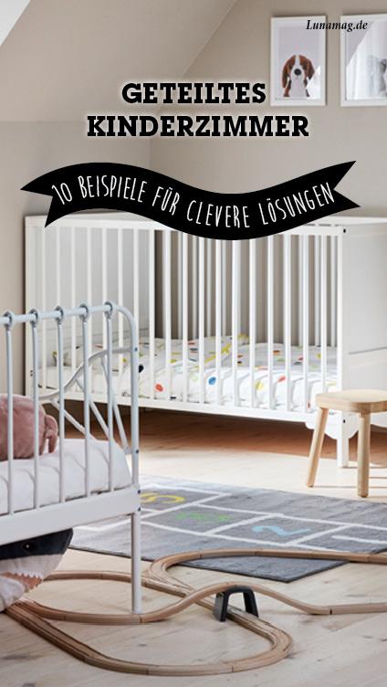 Geteiltes Kinderzimmer: 10 Beispiele für clevere Lösungen