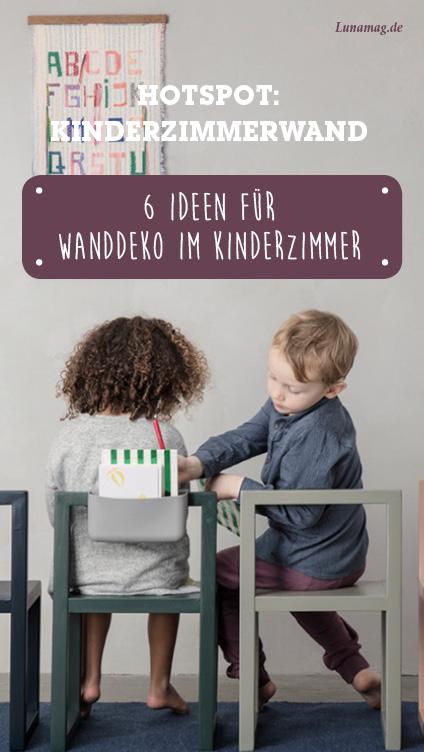 6 Ideen, die Kinderzimmerwände zum Highlight machen