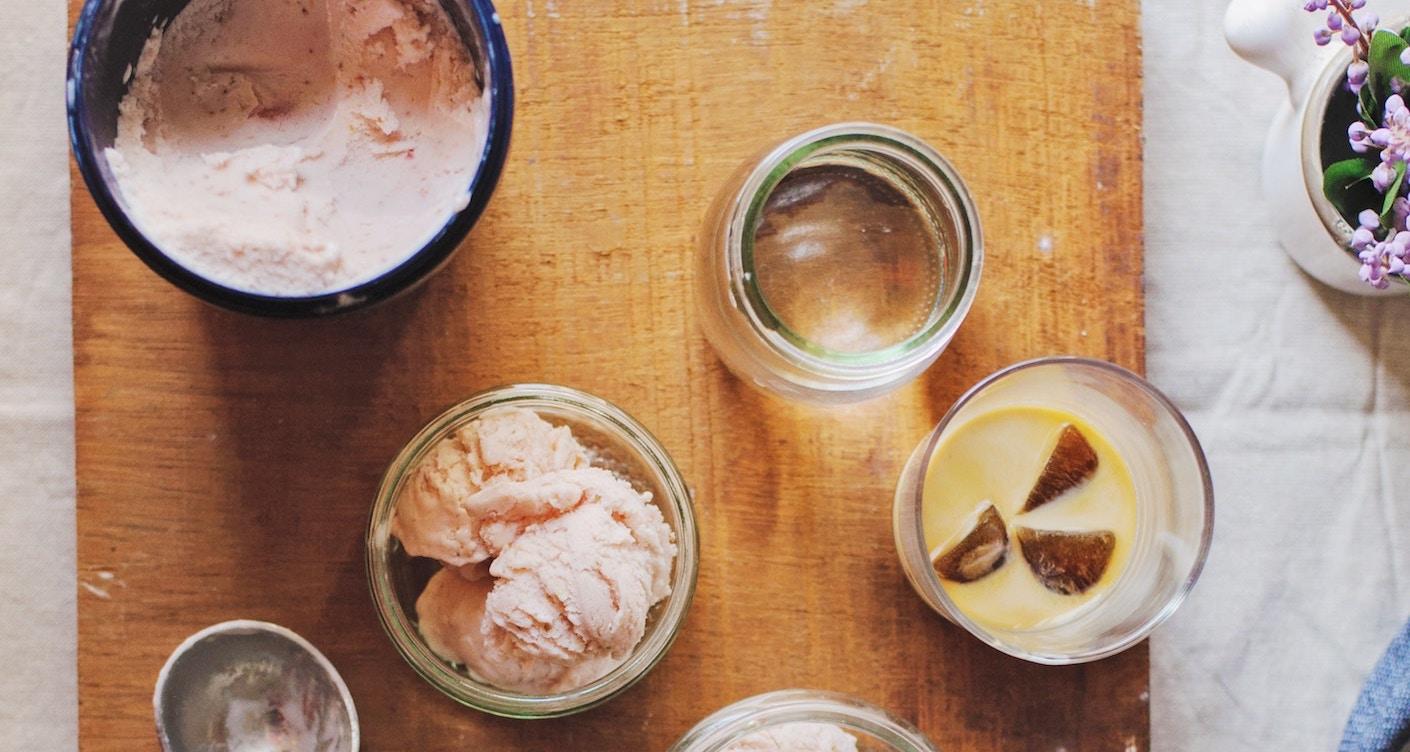 Eismaschine zu gewinnen – Selbstgemachtes Eis aus Bärenmarke Joghurt
