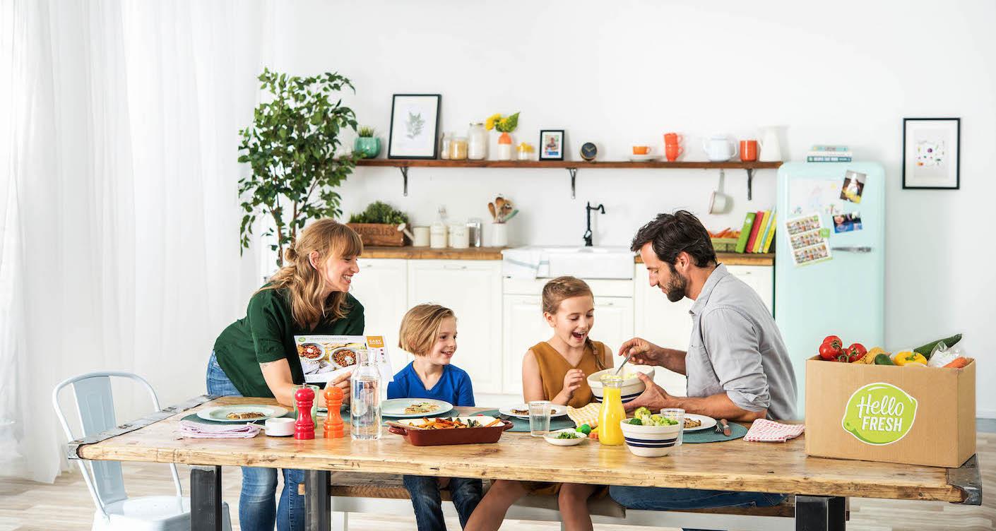 Einfach kochen für Kinder: Luna-Leser testen die HelloFresh Family Box