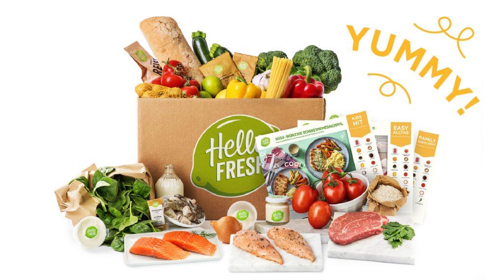 Kochen für Kinder mit Hello Fresh