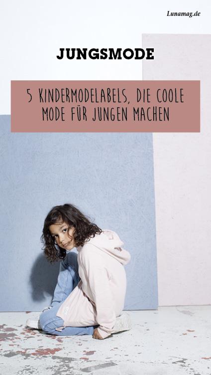 5 Kindermodelabels, die colle Mode für Jungen machen