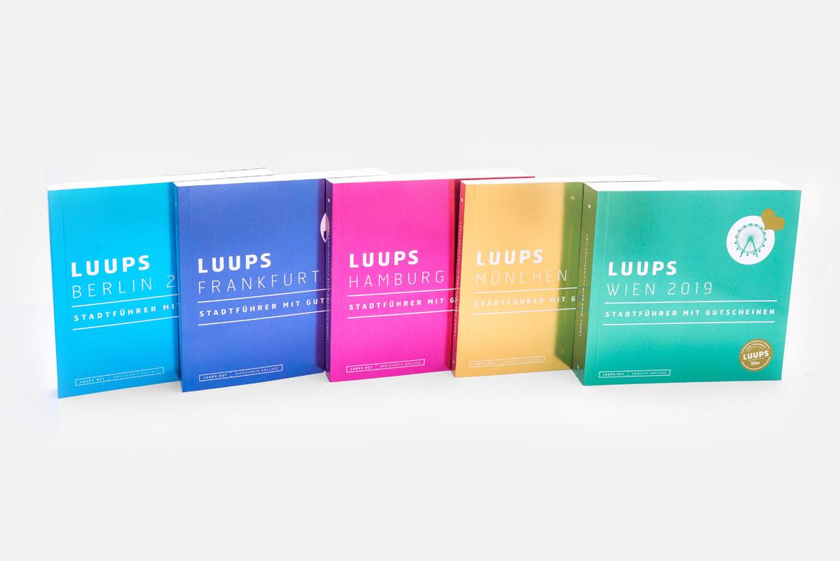 Gutscheinbücher von LUUPS