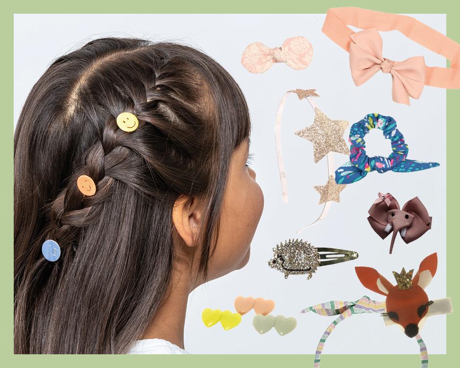 Haarreifen und Haarspangen für Kinder: Für die schnelle Frisur am Morgen