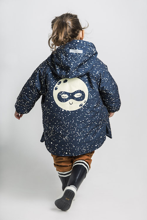 Nachhaltige Regenjacken für Kinder, Lea & Jojo