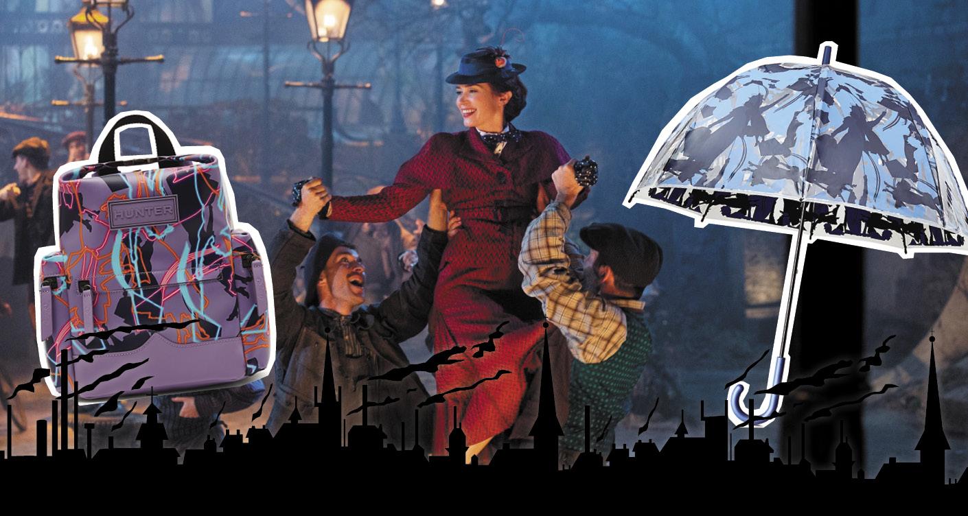 Mary Poppins zum Anziehen: Hunter präsentiert Disney Kollektion