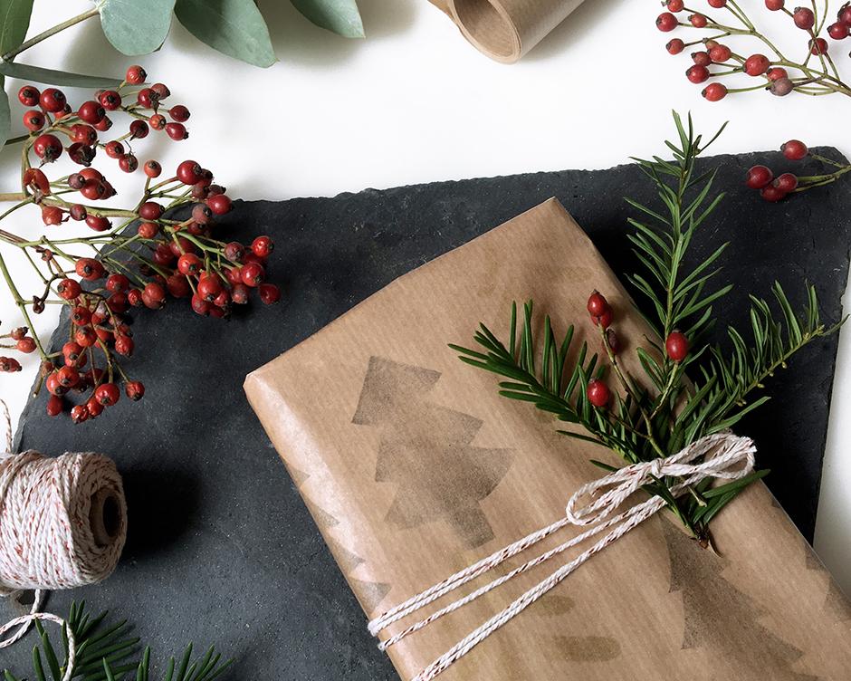 Geschenkpapier selber bedrucken